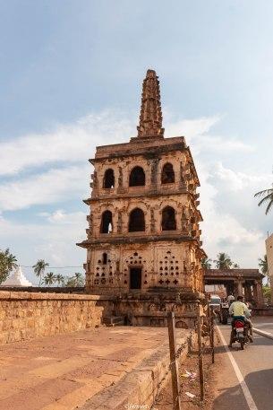 Outside Banashankari temple