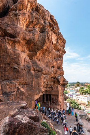 View of cave 1