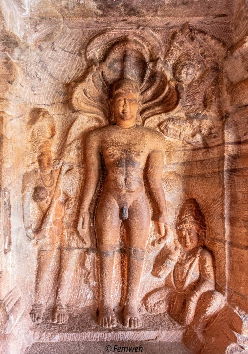 Parshvanatha in cave 4.