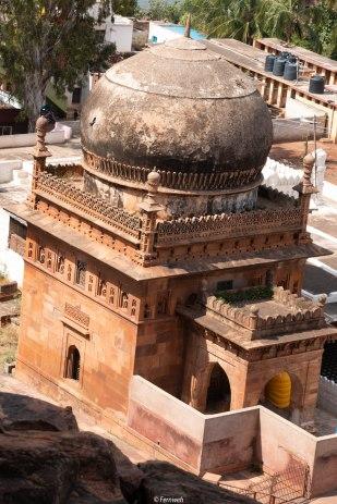 Masjid near cave temples