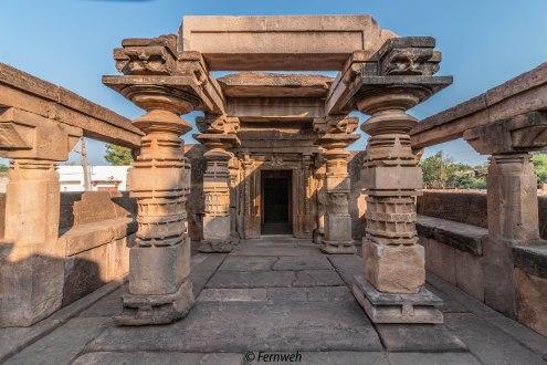 Derelict temples near Virupaksha temple